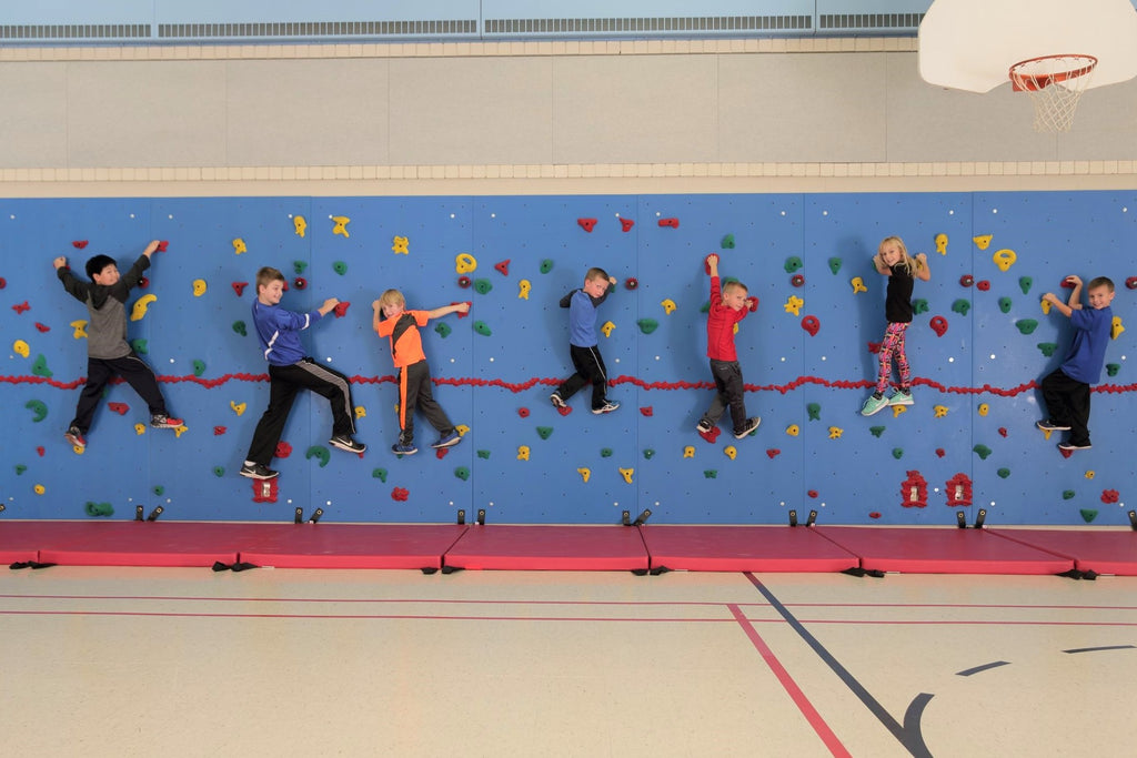 Sharing the Wall: Ways to Use the Climbing Wall Beyond Physical Education -- Part 3