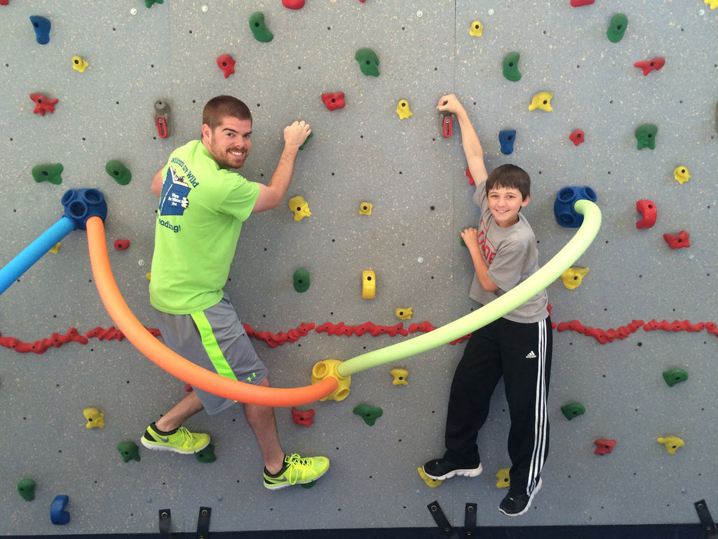 Rock Climbing Brings Fun and Fitness to PE Program by Matt Barrows