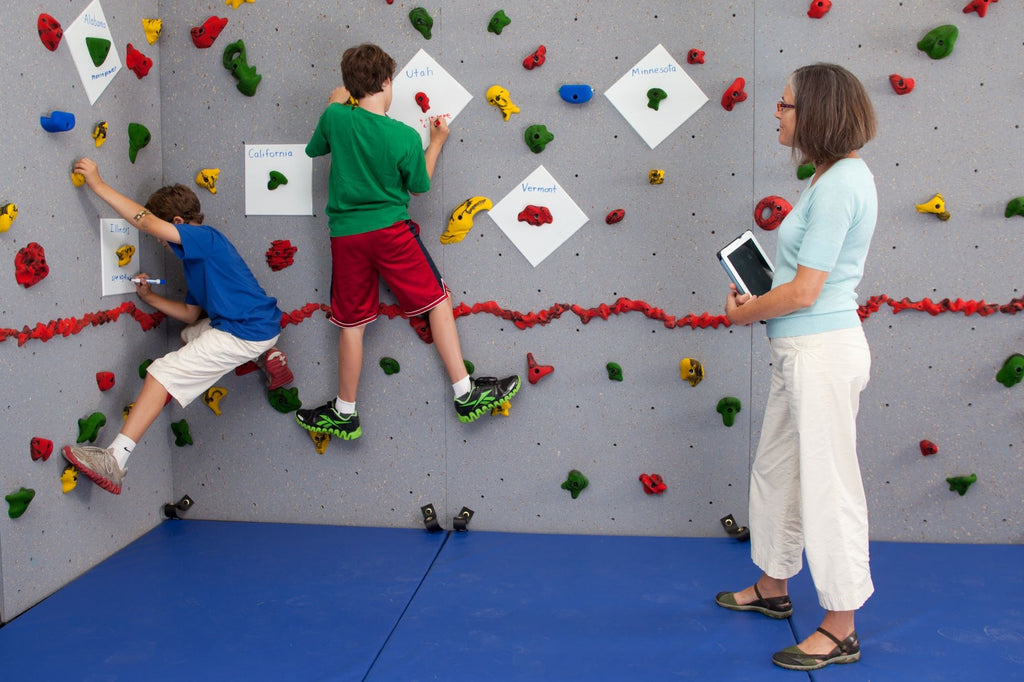 Sharing the Wall: Ways to Use the Climbing Wall Beyond Physical Education -- Part 1