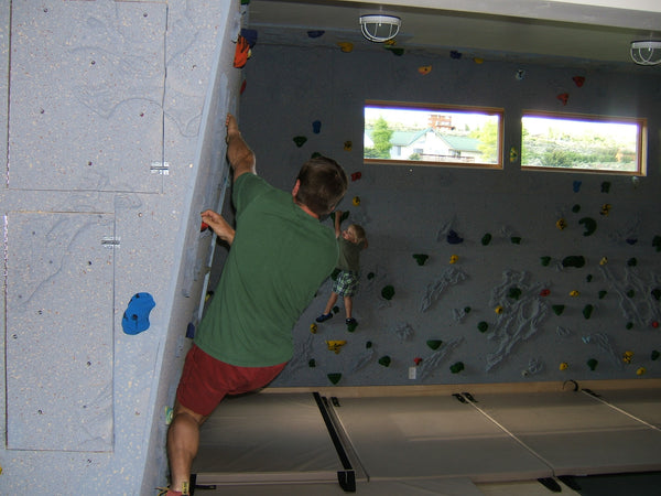 An Introduction to Home Climbing Walls
