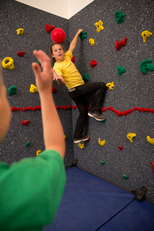 Climbing Activity of the Month: One Hand Catch-N-Climb