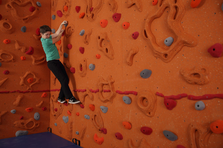Introducing the Sandstone Relief-Feature® Climbing Wall by Everlast Climbing