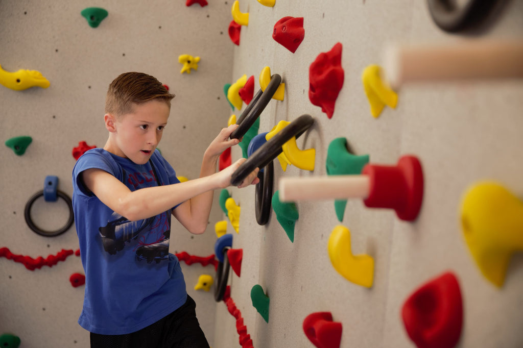 How to Add Ninja Elements to the Climbing Wall
