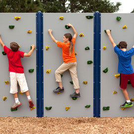 Color Playground Climbing Wall