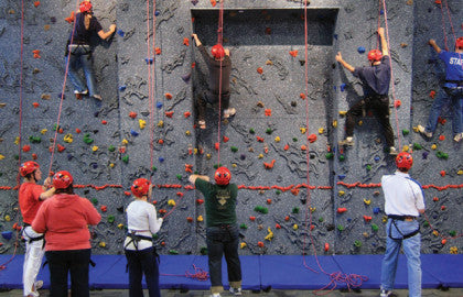 Top Rope Climbing Walls
