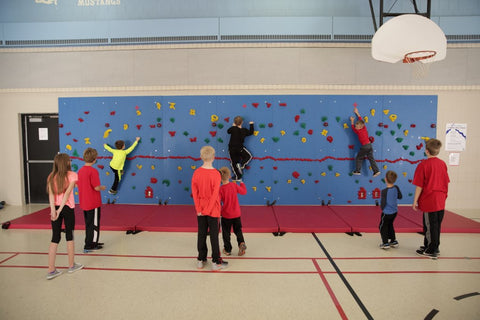 Chroma Climbing Wall Team Activity