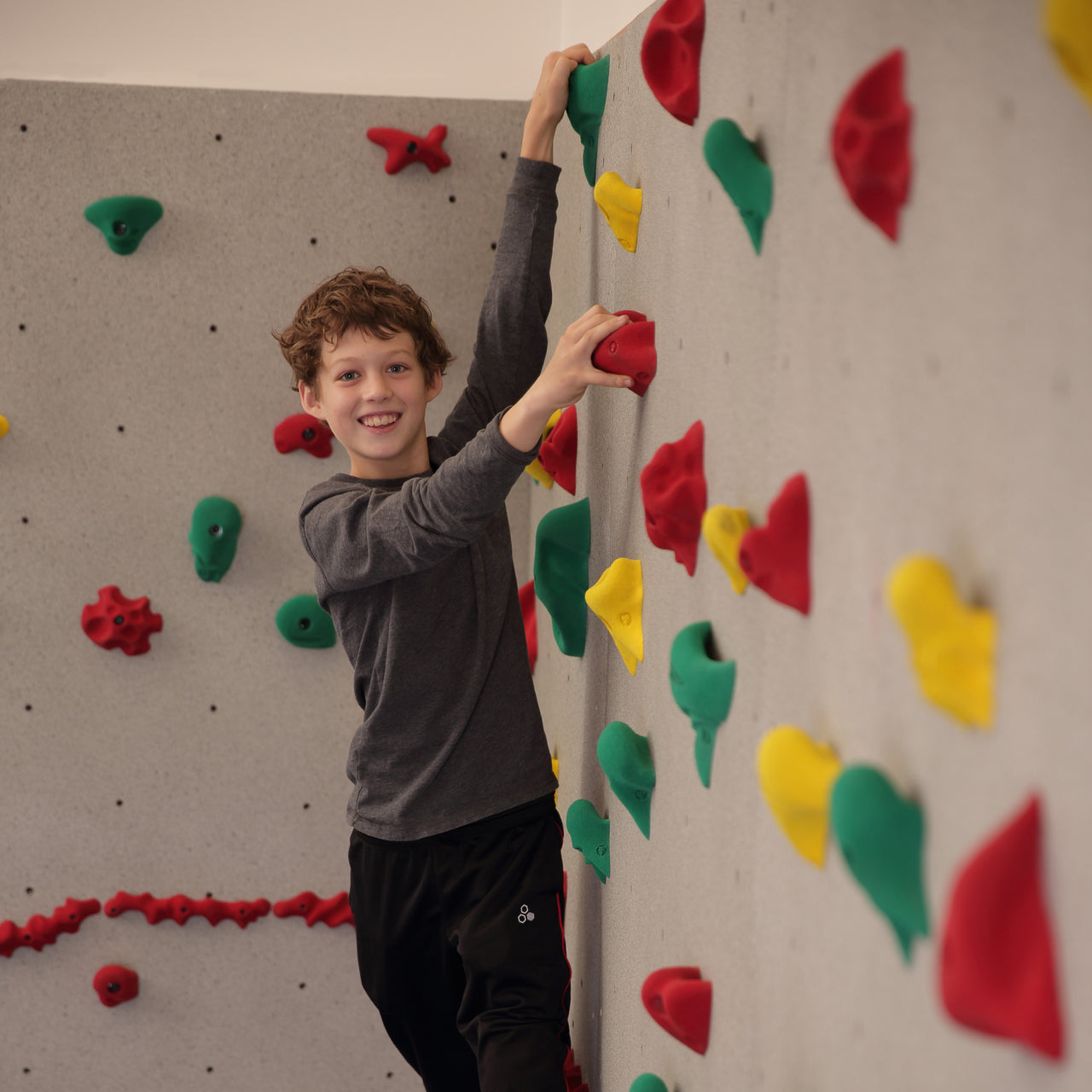 The River Rock Climbing Wall in Granite is perfect for all ages.