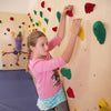 The Baltic Birch Climbing Wall is a showcase wall for any age.