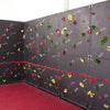 Discovery Black Board Climbing Wall Full Wall Shot