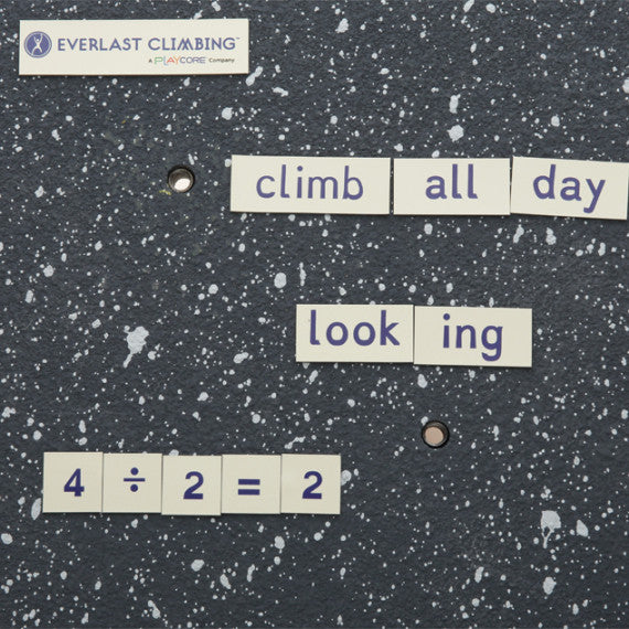 Dyslexie Font Climbing Wall Magnets