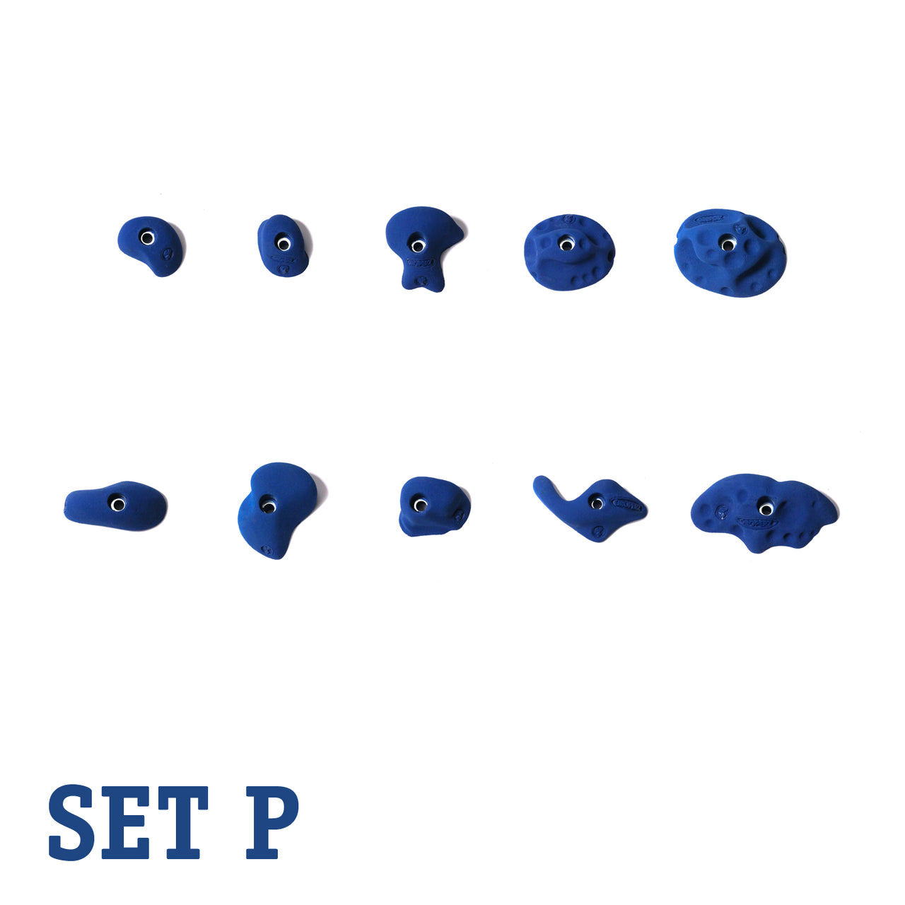 Groperz Experienced Route-Setting Hand Holds Set P