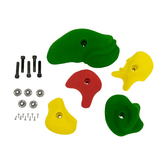 Home Climbing Wall Hand Holds and Hardware