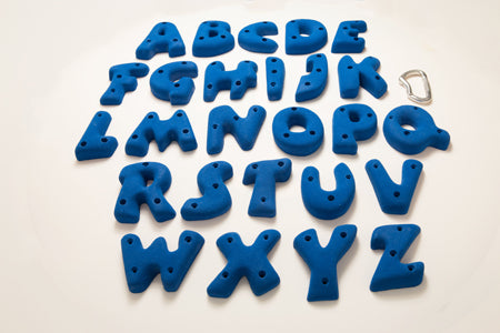 Alphabet Hand Holds – Screw On
