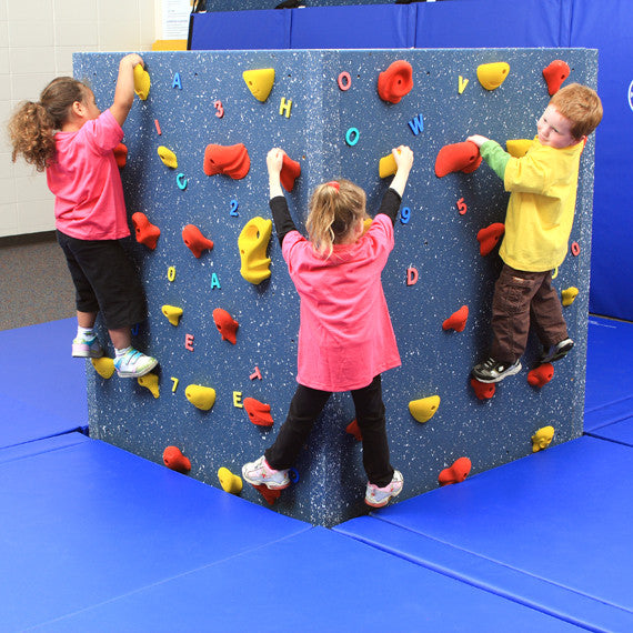 WeeKidz Tyke Tower Freestanding Climbing Wall