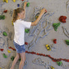 Relief-Feature Traverse Climbing Wall Girl Climber