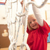 Safari Indoor Jungle Gym Wild Web Girl Smiling