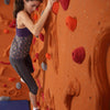 Sandstone Relief-feature Traverse Wall Girl Climbing