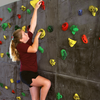 Superior Rock Climbing Traverse Wall Girl Climbing