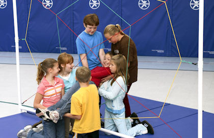 Spider's Web Team Building Activity