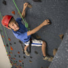 Top Rope Climbing Wall Boy on Climbing Wall