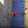 Top Rope Climbing Wall View From the Top