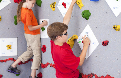 Discovery Dry-Erase Plates Climbing Wall Accessory