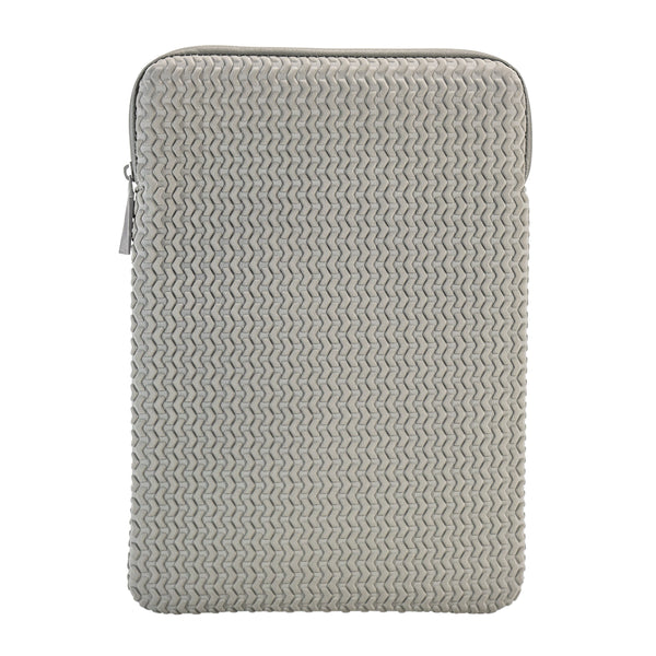 "Embossed Laptop Sleeve 15"" - Grey"