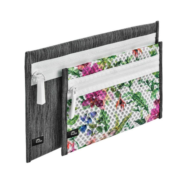 2PC Pouch Set - Floral