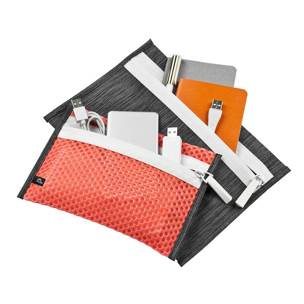 2PC Pouch Set - Orange