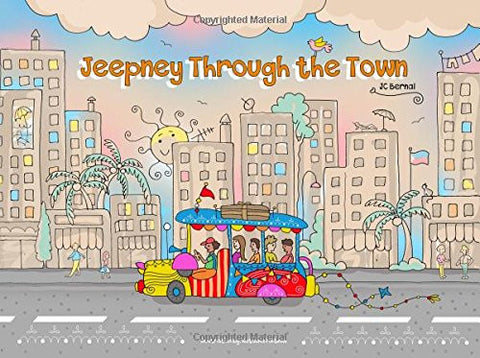 Jeepney Through the Town
