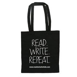 Read.Write.Repeat Tote Bag