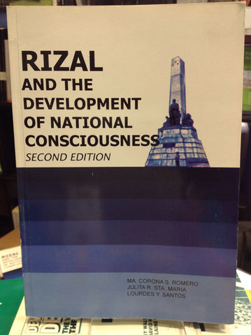 Rizal and the Development of National Consciousness - Second Edition