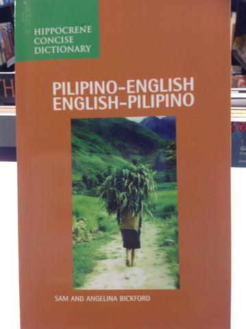 Hippocrene Concise Dictionary/Pilipino-English/English-Pilipino