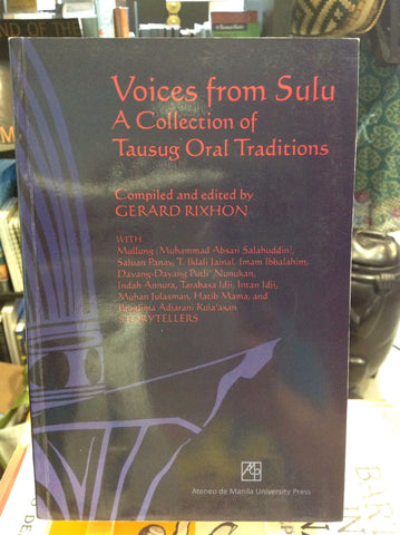 Voices from Sulu: A Collection of Tausug Oral Traditions