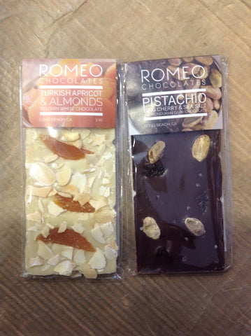 Romeo's Chocolate Bars
