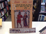 Barangay: Sixteenth-Century Philippine Culture and Society