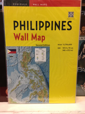 Philippines Wall Map