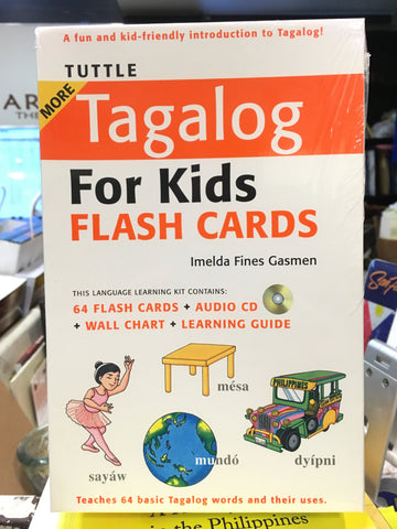 More Tagalog for Kids - Flash Cards