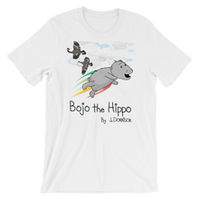 Bojo the Hippo Official Cover- Adult Short Sleeve T-Shirt