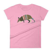 """What the Dillo!?"" - Women's Short Sleeve T-Shirt"