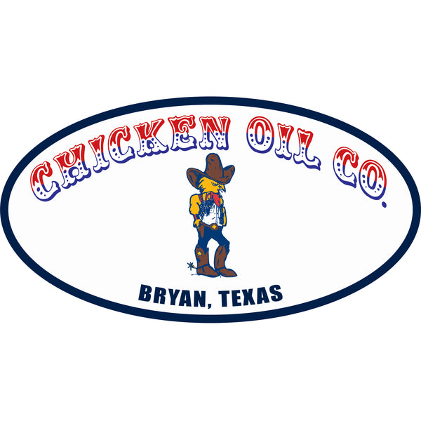 Chicken Oil Co Sticker