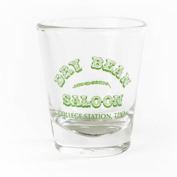 Dry Bean Logo Shot Glass