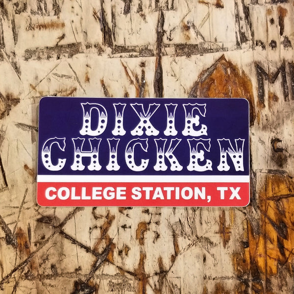 Dixie Chicken Sticker