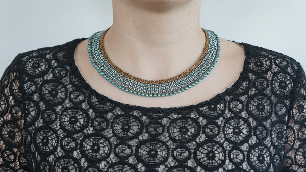 Let There be Turquoise Necklace - DereDere Jewellery