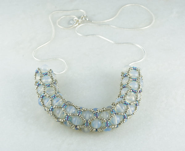 Net of Dew Necklace - DereDere Jewellery
