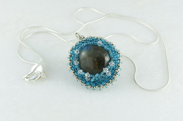 Labradorite Nest Necklace - DereDere Jewellery