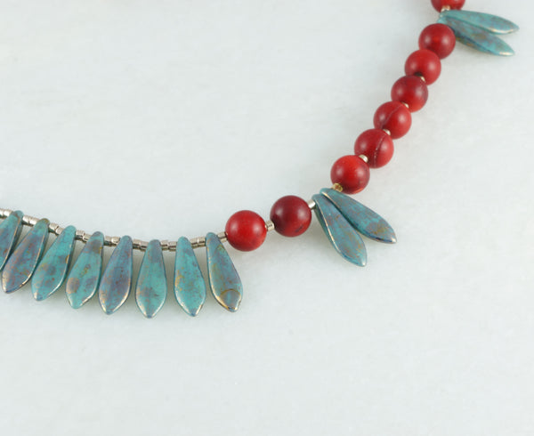 Tribal Necklace - DereDere Jewellery