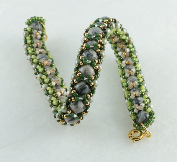 Moss on Stones Bracelet - DereDere Jewellery