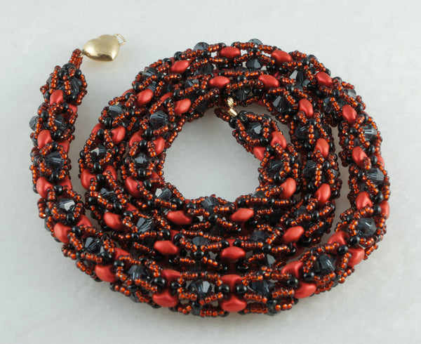 Fire Garland Set - DereDere Jewellery