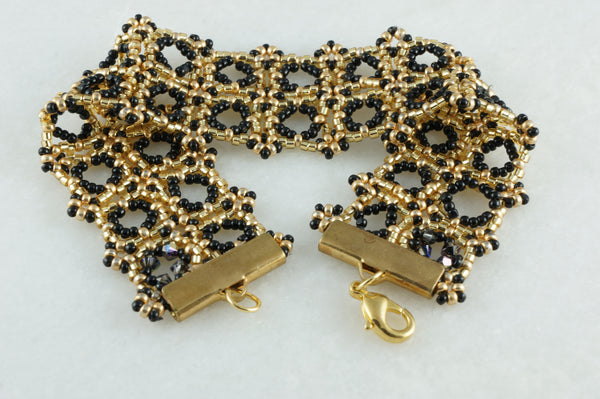Gold Lace Bracelet - DereDere Jewellery